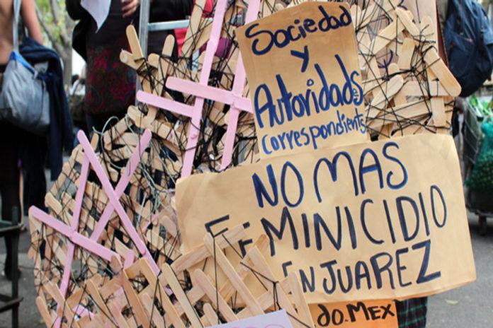 Protesta feminicidio