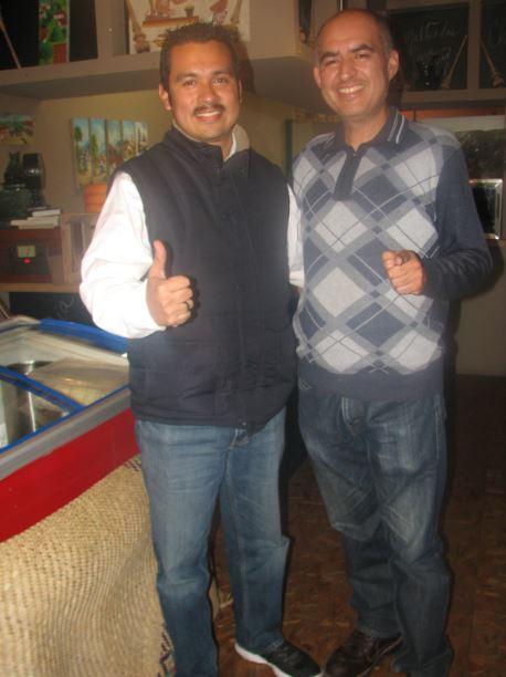 Edgar Campos Benitez e Isaias Plascencia