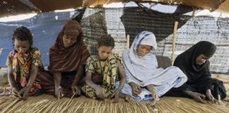 Niñas mauritanas