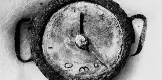 Reloj en Hiroshima