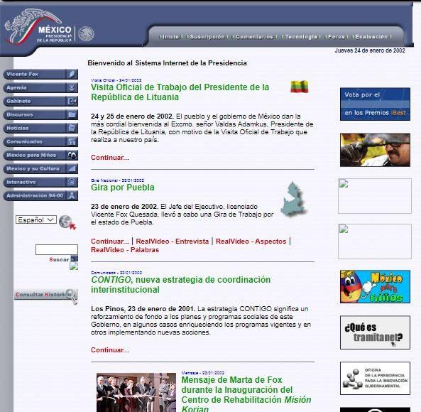 Presidencia 2002