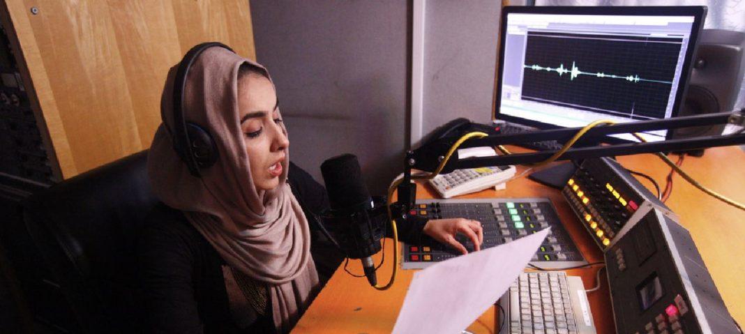 Periodista afgana
