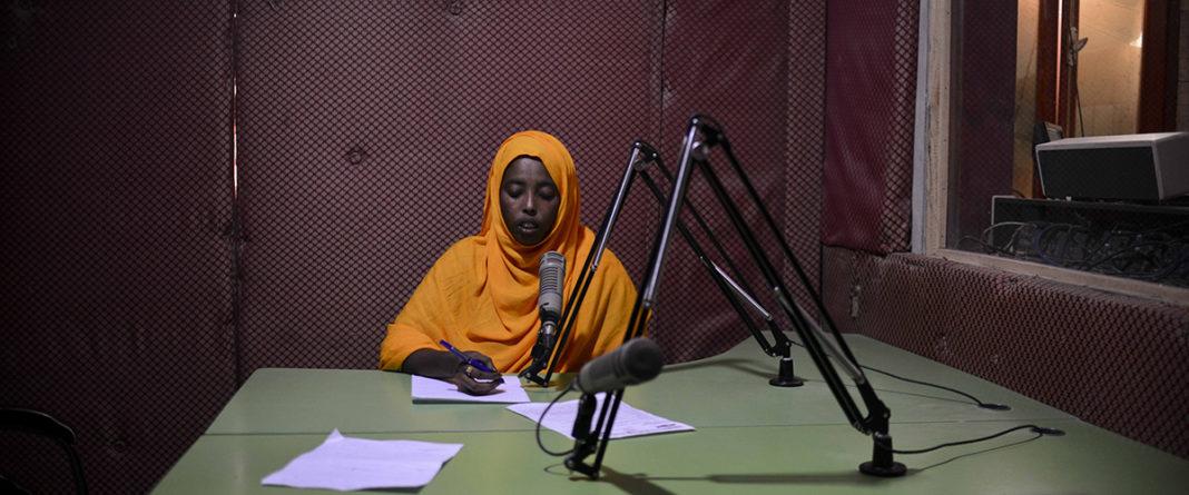 Photo story on journalists working in Mogadishu